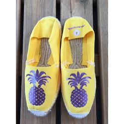 espadrilles femmes personnalisées ananas