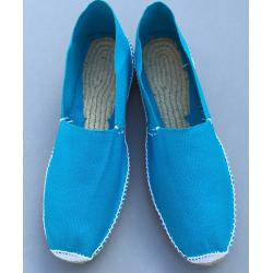 blue summer shoes