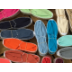 espadrilles traditionnelles unies