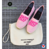 "Espadrilles ""happiness"""