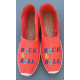 "espadrilles: ""ROCK&ROLL"""